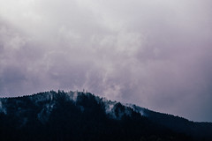Gerardmer (laurabesancon) Tags: gerardmer france vosges mountains lake winter clouds fog forest nature