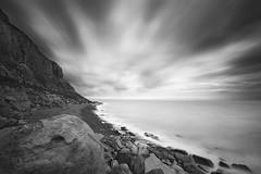 Sunrise ! (Yo Gladman) Tags: bigstopper 10stopfilter blackwhite beach sky d610 nikond610