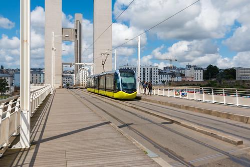Pont de la Recouvrance à Brest