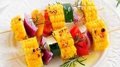 Corn Lovers (idietitianin) Tags: healthy corns skewers delicious fitness happiness