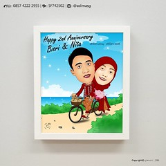 Happy Anniversary karikatur. yuk bikin di @ghework #carikado #kadounik  #kadolucu #karikaturdigital  #karikatur #karikaturwajah  #ghe #ghework #wedding  #karikaturpemalang  #karikaturmurah #orderkarikatur #cari #desainkarikatur #hadiah #hadiahlucu  #hadia (ghework) Tags: instagramapp square squareformat iphoneography uploaded:by=instagram carikado kadounik kadolucu karikaturdigital karikatur karikaturwajah ghe ghework wedding karikaturpemalang karikaturmurah orderkarikatur cari desainkarikatur hadiah hadiahlucu hadia karikaturpemalangghework