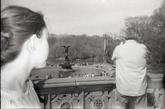 my family photos (tamara noland) Tags: fujineopan1600 olympusstylus200m filmphotography blackandwhite analogue newyork centralpark