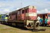 742-115 at Ceska Trebova depot (Karel1999 Over a Million views ,many thanks) Tags: vlak zug locomotives trains diesels ceska trebova