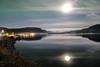 moonlit (Ratatosken) Tags: bjerka norge norway moon måne reflection speiling night natt sea fjord nightsky fjell mountains nightlight