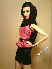 SLAYS (krixxxmonroe) Tags: ira d ryan photography krixx monroe styling fashion royalty nu face fr2 opium ayumi black brocade suit by the vogue hong kong