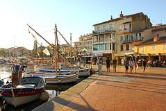 Sanary-sur-Mer (Freyja H.) Tags: france provence sanarysurmer sanary provencealpesctedazur paca mediterranian harbour port village fishing boat pointus var water sea ocean waterfront