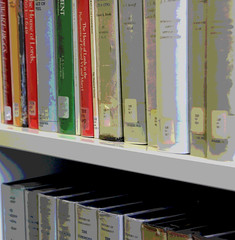 Books (pips.armstrong) Tags: manchester books posterized