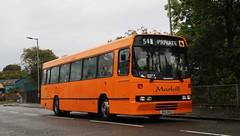 Marbill, Beith DAZ1542 (busmanscotland) Tags: marbill beith daz1542 daz 1542 ulsterbus volvo b10m alexander belfast q type