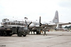160th ARG Boeing KC-97L Stratofreighter 52-2630 (Wing attack Plan R) Tags: kc97l c97 522630 boeing stratotanker 145thars 160tharg ohioang rafgreenhamcommon 1974 tanker propeller radialengine zeppelinheim stratofreighter j47turbojet r4360waspmajor usaf usairforce