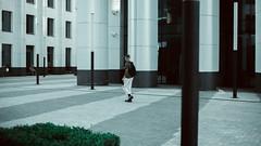 Business district -   (Khusen Rustamov) (xusenru) Tags: metropolis house skyscraper city highrise glass street window skyscrapers walls architecture building bluesky facade office style summer sky freephotos freeimages artirbisproduction khusenrustamov xusenru