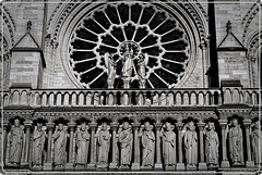 Faade de la cathdrale Notre Dame, Paris (Ioan BACIVAROV Photography) Tags: cathedrale cathedral art medieval notredame paris faade statue sculpture stone grey religion religious religiousart middleage bacivarov ioanbacivarov bacivarovphotostream interesting beautiful wonderful wonderfulphoto nikon