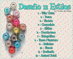 Desafio 12 Estilos (vintagebadgirl) Tags: desafio12estilos desafio beauty unhas nailart esmaltes mundodahelen nailpolish