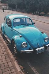 #vsco #vscocam (joovitor25) Tags: vsco vscocam car oldcar beatle blue cars