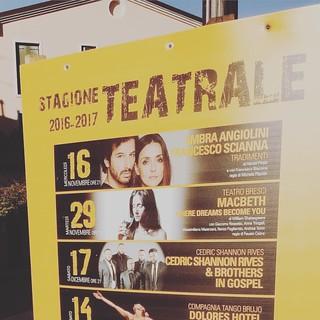 """Stasera """"Macbeth"""" a San Stino di Livenza #theaterlife #theatrelife #teatrobresci #400shakespeare #arteven"""