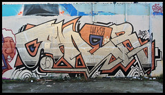 saner (SaNeR hVa KgB) Tags: aerosol art tag terrain typo mur couleur bombe colors ptdq paris peinture painting lettrage letters lettres lettering kgb hva handstyle chrome graff graffiti france fat fatcap saner spot silver writing writer wildstyle wall can