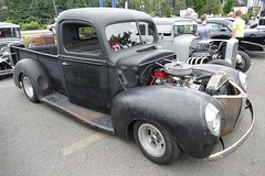 1940 Ford pickup (bballchico) Tags: 1940 ford pickuptruck goodguys carshow 1940s ratbastardscarshow ratbastardscc 206 washingtonstate