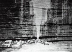 (mikehip) Tags: wood nyc new york city manhattan fall holga 35mm black white kodak film photography building people