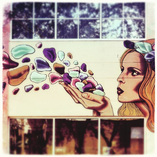 The deepest truth blooms only from the deepest love 💜. ➖Heinrich Heine . #truth #blooms #love #flowers #petals #woman #beauty #streetart #wallart #mural #art #colorful #downtownstpete #stpete #stpetersburg #saintpetersburg #f