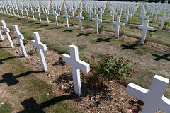 Graveyard at Ossuary of Douaumont, Verdun (Mikey Down Under) Tags: verdun town france ossuary french battle war 1 i wwi ww1 graves graveyard memorial soldiers white crosses rows thousands world francais mortpourlafrance 1916 cemetary pride douaumont ossuaire dedouaumont