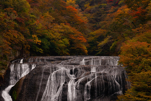 Autumn in Fukuroda falls