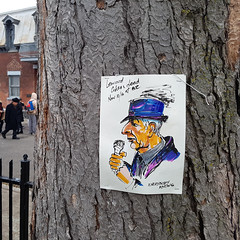 R.I.P. Leonard Cohen (1934-2016) (Exile on Ontario St) Tags: leonardcohen memorial montreal death leonard cohen rip tribute hommage dies dead dcs mort passing singer poet writer montrealer vallires saintdominique stdominique quebec parcduportugal parc portugal park canada qubec montral ripleonardcohen hommages zen centre center plateau plateaumontroyal tributes dessin portrait songwriter song songs music canadian mourn mourning makeshift flowers messages notes illustration art drawing picture tree arbre everybodyknows everybody knows square squareformat