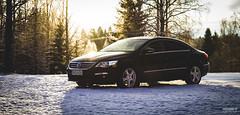 Passat CC (>>Marko<<) Tags: lumi talvi car volkswagen passat cc vehicle outdoor black auto dasauto joensuu suomi finland canon valokuvaus