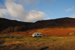 November camp at Loch Arkaig (What I saw...) Tags: loch arkaig scotland highlands toyota hiace campervan