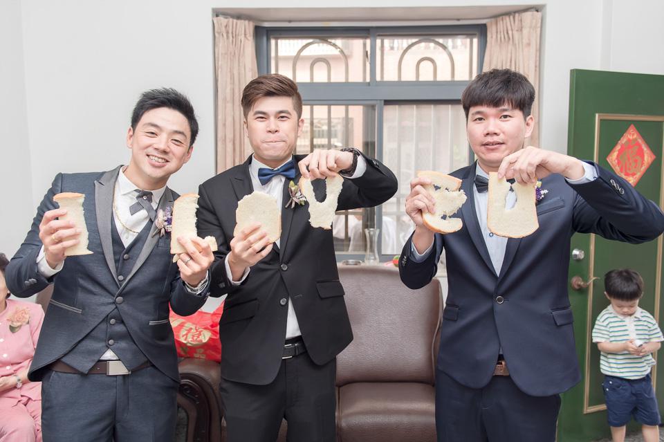 台南婚攝 婚禮紀錄 情定婚宴城堡 C & M 025