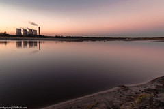 Merseyside Autumn (12 of 16) (andyyoung37) Tags: fiddlersferrypowerstation runcorn refelections rivermersey sunset