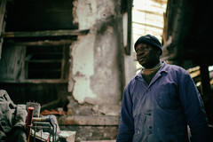 Mister Moussa, Factoryworker IV (johann walter bantz) Tags: f14 ambiente ambiance human colorful pantin 93 banlieueparisienne reportage documentaryphotography documentary documentaire 35mm nikond4s working work old industrie factory