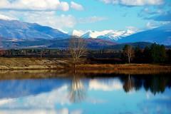 (sevdelinkata) Tags: dam mountain rila bulgaria outdoor landscape snow sky blue water skyiscreative