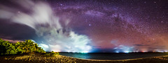Tropical Paradise Milky Way Panorama (oldkentucky85) Tags: night photography maldives tropical island remote paradise beach nikon travel manfrotto tamron astro astrphotography stars milkyway cloud porn d750 landscape vacation ocean sea palm tress islandlife wanderlust galaxy oceanscape pano panorama stitch ice sand seaside digital colourful colorful pretty camera mysterious shore exposure cloudy lights boat boats