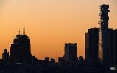 Early sun on TriBeCa (dansshots) Tags: earlymorninglight sunrise sunrisecolors orange tribeca tribecanyc reflections nyc dansshots nikon nikond750 sigma300800mm sigma