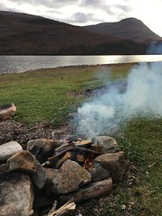 Marshmallow cooker (What I saw...) Tags: loch arkaig scotland highlands fire hobo stove