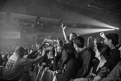 #Repost #Shinedown: Our Audience loves to surf photo by @larnlg (ShinedownsNation) Tags: shinedown nation shinedowns zach myers brent smith eric bass barry kerch