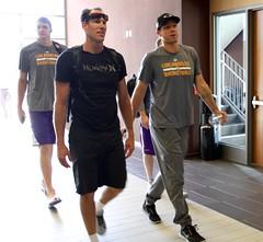 Lakers at Pechanga 2016 (Hispanic Lifestyle) Tags: golakers 2016 basketball hispaniclifestyle hispaniclifestylecom lakers losangeles lukewalton nba workout