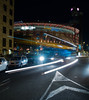 (rriupu) Tags: night noche lights luces traffic trafficlights longexposure trafico bcn barcelona