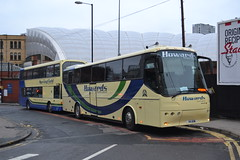 Howards Travel Group Y22HOW & K4HOW (Will Swain) Tags: manchester 29th october 2016 bus buses transport travel uk britain vehicle vehicles county country england english greater city centre north west warrington howards group y22how k4how x4gvt gee vee barnsley