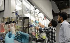 Labwork (Pacific Northwest National Laboratory - PNNL) Tags: pnnl doe pacificnorthwestnationallaboratory departmentofenergy zeolite zeolites