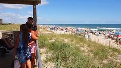 P9040379 (photos-by-sherm) Tags: carolina beach nc north summer plants trees boardwalk sunbathers atlantic ocean