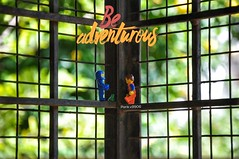 Be adventurous. (parik.v9906) Tags: trust friends sun minifigs frog adventure grill paint garden outdoors d90 nikon project days 365project 365days 365 minifigures minifigure minifig legos lego
