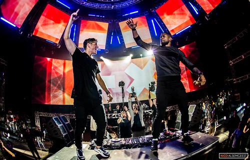 Martin Garrix & Usher @ Ultra Miami 2015