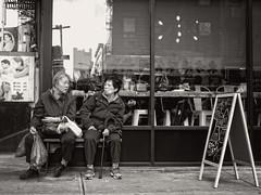 Grand Street, NYC (SG Dorney) Tags: ny nyc newyorkcity blackandwhite bw monochrome manhattan lowermanhattan downtown street streetphoto streetphotography canon eos60d people chinatown grandstreet