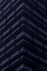 Two Points II (ElMalva) Tags: twopointsperspective skyscraper building edificio toronto torontodowntown downtown downtowntoronto angle detail detalle detallearquitectnico balcones balconies pattern architecture architecturaldetail canada ontario up outdoor dramatic perspective perspectiva architecturalphoto tower abstract abstracto torre