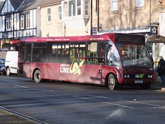 TM Travel 1161 Matlock (Guy Arab UF) Tags: tm travel 1161 yg52dhc optare solo m920 bus matlock causeway lane derbyshire wellglade buses wellgladegroup powell ledbury