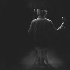 Tatti Quattro (donlunzo16) Tags: nikon df dƒ raw nef vsco film pack vignette 2 x nd filter nikkor afs lens ais manual 50mm f112 bw black white blackwhite me self selfie umbrella wine vine wein chair chairs