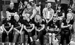 six of us (fat-freddies-cat  4 million views) Tags: people bw blackandwhite cardiff wales crowd