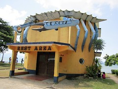 CRAB DESIGN (PINOY PHOTOGRAPHER) Tags: sorsogon city rest area architecture bicol bicolandia luzon philippines asia world