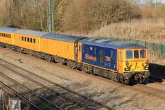 73961 Alison (aledy66) Tags: 300q 1113 cricklewood no2 g l derby network rail canon 70d diesel train loco locomotive yellow banana gbrf 73961
