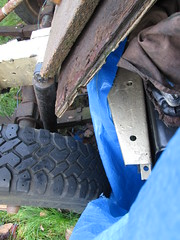 IMG_0540 'new' Land Rover chassis - devoid of brackets (robsue888) Tags: merseyside landrover